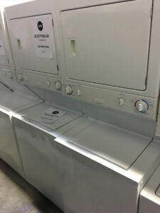 "Electrolux 27"" white laundry unit PRICE $499"