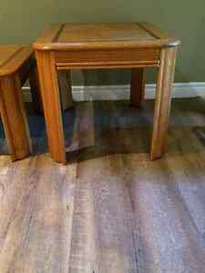 Matching Coffee and End Tables Great Shape London Ontario image 2