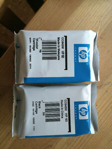 HP 60 Colour and Black and Colour Print Cartridges