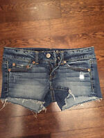 American eagle and American outfitters summer short and skirt