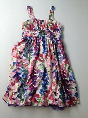 Tween Big Kid Girl Ruby Rox Floral Holiday Party Dance Portrait Dress Size 12 - Tween Dance Dresses