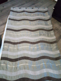 One pair 90x72 heavy curtains