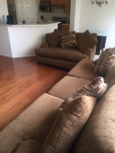 3 SEATER AND 2 LOVE SEATS - THREE SOFAS FOR SALE