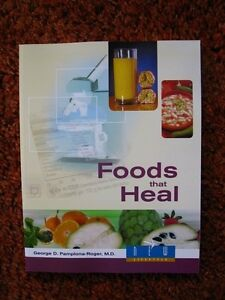 Book:  FOODS THAT HEAL - Enjoy vibrant health.  Coloful pages