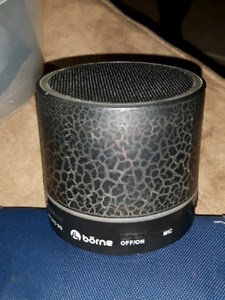 Small color changing Bluetooth speaker