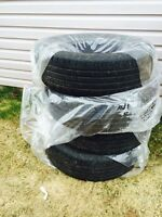Well used tires