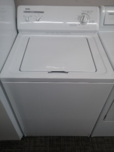 White Kenmore Washer with Full Warranty