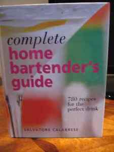 Hard Cover Brand New Home Bartender's Guide Book
