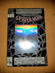 Amazing Spider-Man 365, with Venom/Carnage poster and 2099 previ