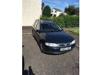 Vauxhall vectra 2.2 Sri 150 Estate 2002 - spares or repair