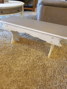 Shabby Chic country bench