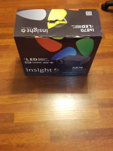"""4K PROJECTOR: INSIGHT IS-870 w/ 72"""" automatic drop down screen"""
