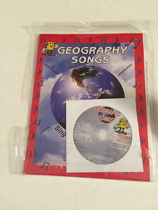 Brand New Geography Songs Kitchener / Waterloo Kitchener Area image 1