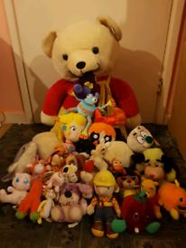 Teddy's soft toy