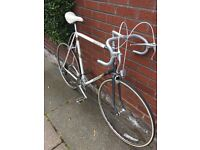 Vintage Retro Raleigh, Road Bike. Large frame. Eroica suitable.