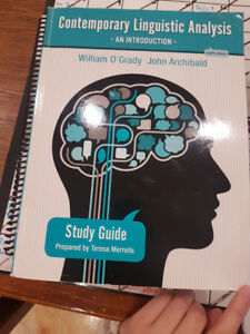 McMaster Contemporary Linguistic Analysis (8th) Study Guide