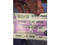 Cream fields 2016 4 day camping ticket