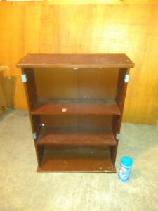 MOVING SALE! SMALL USED WOODEN CHINA CABINET
