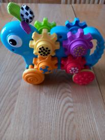 Baby push along toy