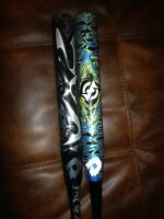 2 Demarini Softball bats