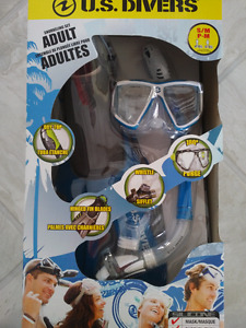 US Divers  Snorkelling Set Adult size small/medium