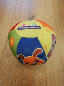 Ball Musical Friends Animals Baby Clementoni