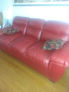 Couches and table