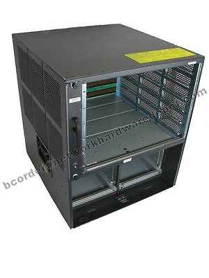 Cisco WS-C6509-E w C6509-E-FAN /& 2 x WS-CAC-3000W 1 YEAR WARRANTY