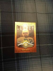 1997 Donruss Legacy Fractal Matrix Emmitt Smith Card #185