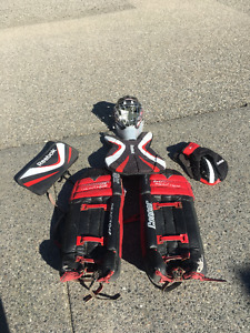 Selling Cooper Leather Goalie Pads & More Street Hockey Gear
