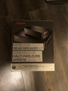 RocketFish Wireless Rear speaker Kit