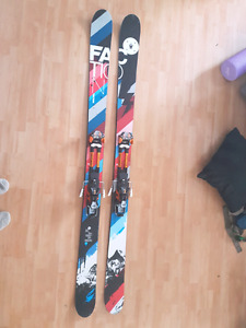 Faction 3.0 skis with Atomic Tracker 16 touring bindings