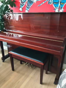 Hoffman and Khune Piano with bench