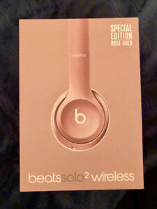 Special edition rose gold beats solo2 - like BRAND New in box!!