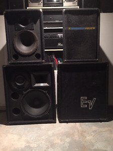 Professional Series P.A Band System @ ½ $$