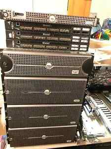 Dell Poweredge Server Cluster /w Powervault and Fiber SAN