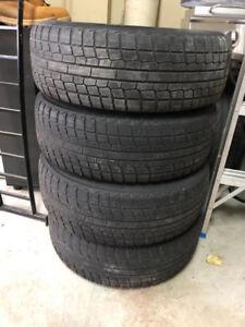 215/70R15 4 Yokohoma Snow Tires w/ Rims