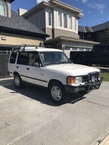 1995 Land Rover discovery manual tranny