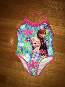 Frozen Bathing Suit - size 4T