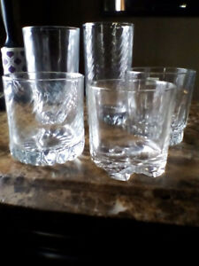 Drinking Glasses for bar , kitchen, holidays!!
