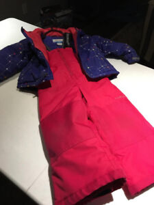 LIKE NEW!LIKE NEW!SNOW SUIT  MIX & MATCH SIZE 3T GIRLS