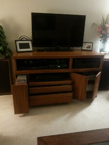 TV Entertainment Cabinet - Excellent Condition