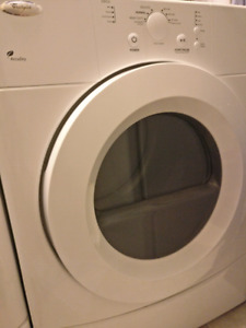 Dryer - Whirlpool front loading, matching washer available