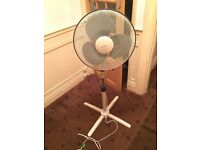 Standing fan 3 speed setting