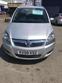 Vauxhall Zafira 1.9CDTi 58 plate SRi
