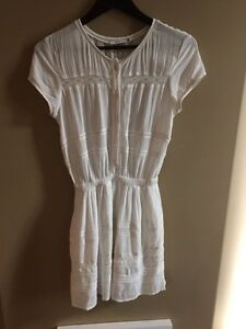 Aritzia Talula xxs white dress