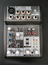 Behringer Xenyx 502 mixer, XM5800 mic and USB interface