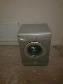 Beko washing machine siilver