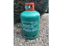 13kg Calor Gas half to three quarters full