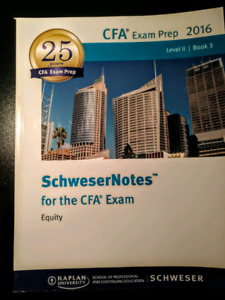 CFA 2016 Level 2 Book 3 Equilty